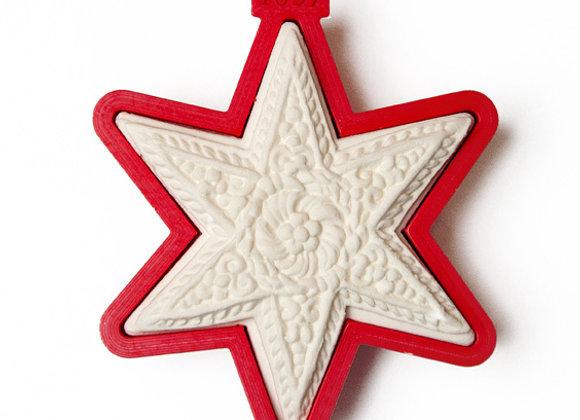 C - 1037 Star Circa 1680 cookie cutter by Gingerhaus 17208