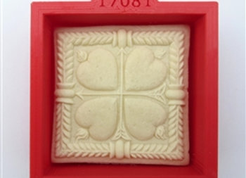 C - 17081 Plain Square cookie cutter by Gingerhaus