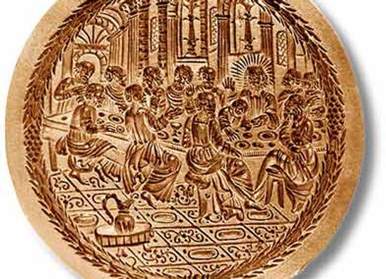 AP 1125 The Last Supper springerle cookie mold by Anis-Paradies