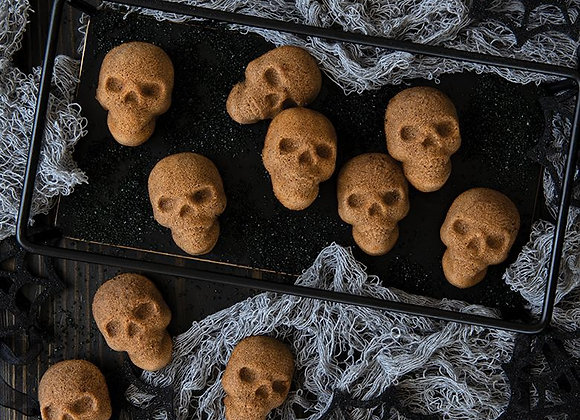 NW 94948 Skull bitelets pan by Nordic Ware
