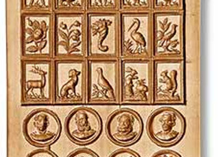 32 Pictures Assorted Motifs springerle cookie mold Anis-Paradies 8888