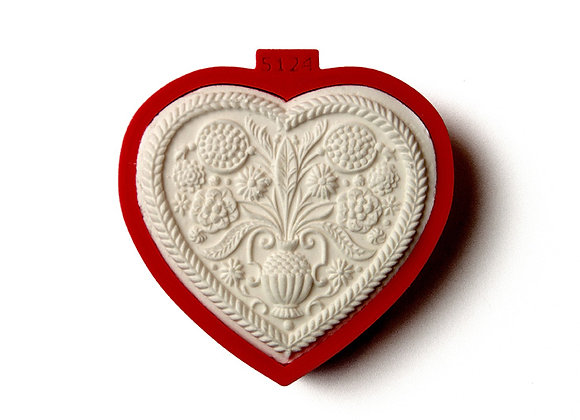 C - 5124 Heart with Tree of Life cookie cutter by Gingerhaus 17210
