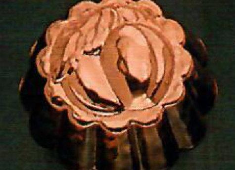BG1103-5 Swiss Peach Copper Choclolate Baking Mold by Birth-Gramm