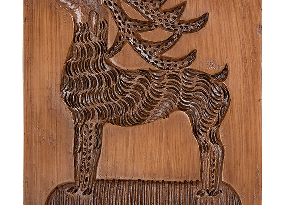 Reindeer Springerle Cookie Mold & cake topper by House on the Hill 6148