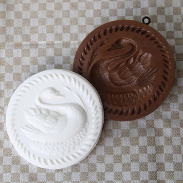 swan lake springerle cookie mold anis pa