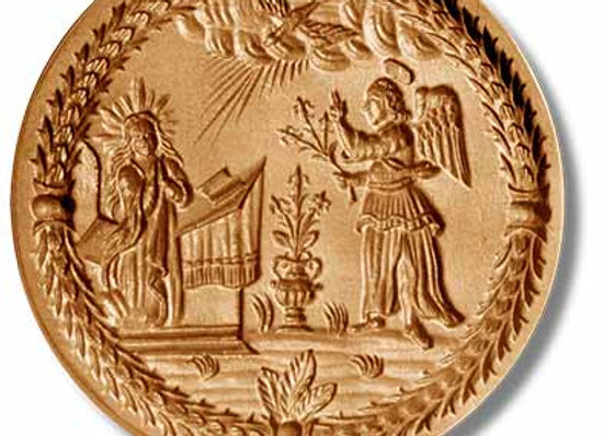 1344 Annunciation circa 1650 springerle cookie mold by Anis-Paradies