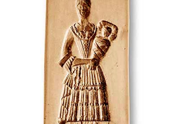 AP 9919 Mother with Child in Arms springerle cookie mold by Anis-Paradies
