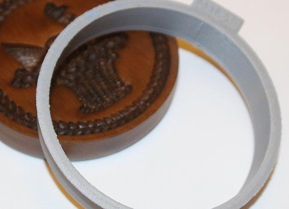 C-M1548 Round Cookie Cutter by Gingerhaus CM1548 3.5 in
