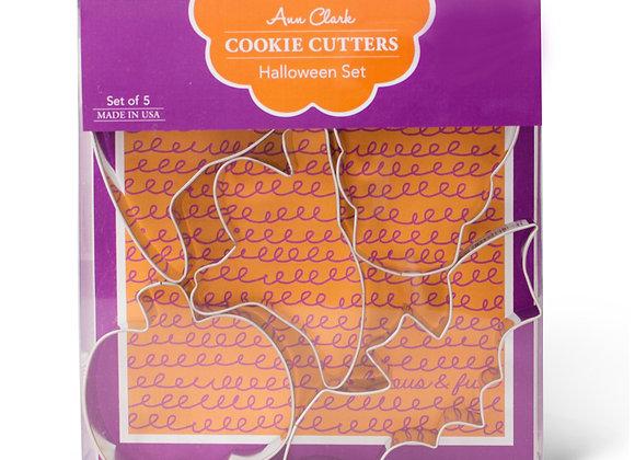 Halloween Cookie Cutter Boxed Set by Ann Clark ACHALSET