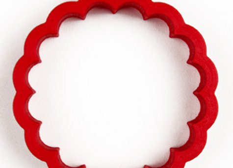 AP C - 17011 Fluted Round cookie cutter by Gingerhaus