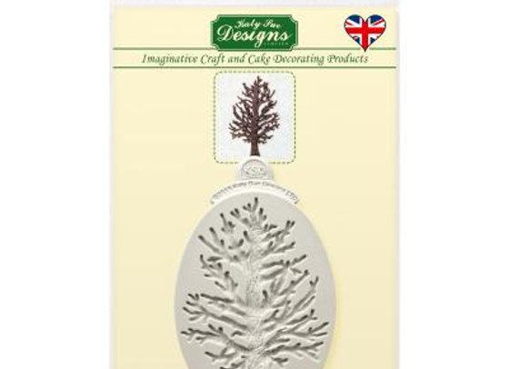 Small Tree silicone mold by Katy Sue Designs CE0053