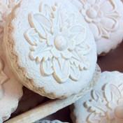 rose flower designs springerle cookie mo