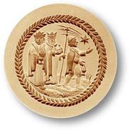 1240 springerle cookie mold three kings