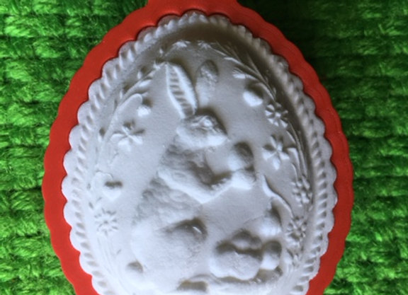AP C - 6129.1 Fluted Easter Egg  cookie cutter - Gingerhaus 17287