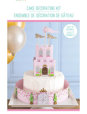 celebrations princess cake topper kit 30