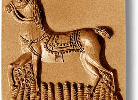 AP-3433 Horse springerle cookie mold by Anise Paradise