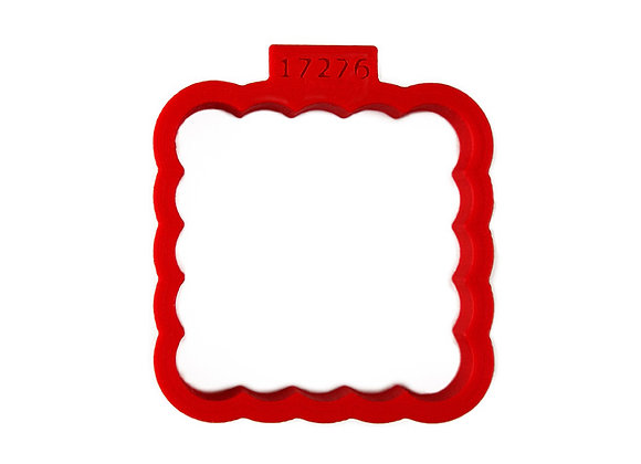 AP C - 17276 Fluted Square cookie cutter by Gingerhaus