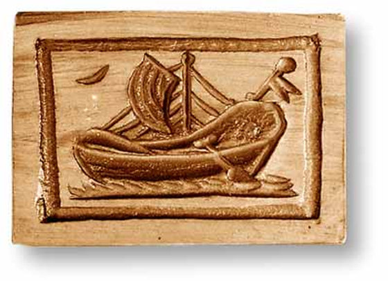 Sailboat springerle cookie mold by Anis-Paradise 04741