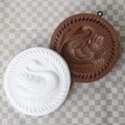 swan lake springerle cookie mold anis pa