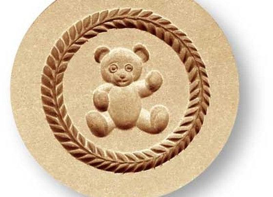 Teddy Bear springerle cookie mold by Anise Paradise 6555
