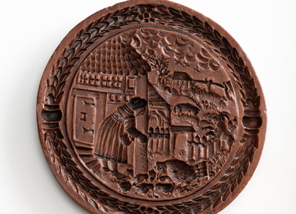 Goode Wyfe Springerle Cookie Mold  by House on the Hill M6209