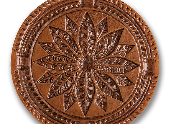 Poinsettia Springerle Cookie Mold  by House on the Hill M6070