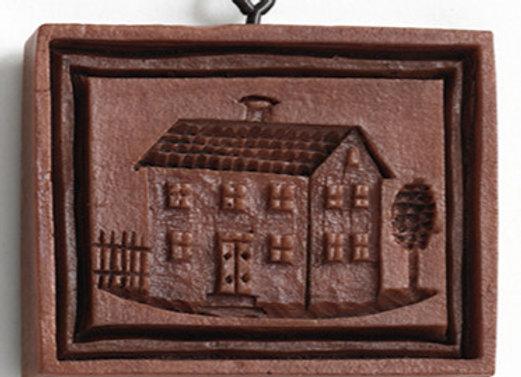 M5155 Biedermeier House Springerle Cookie Mold by House on the Hill