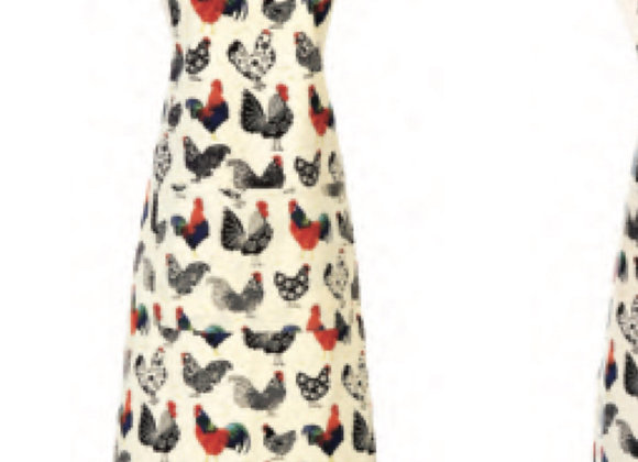 7ROO01 Rooster Cotton Apron by Ulster Weavers