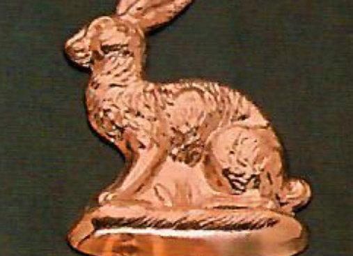 Swiss Rabbit Copper Choclolate Baking Mold by Birth-Gramm BG1210