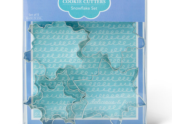 AC 33-006 Snowflake Cookie Cutter Boxed Set by Ann Clark
