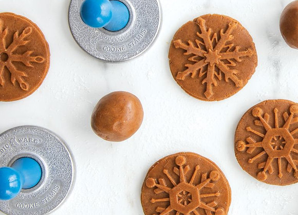Snowflake Cookie Stamps by Nordic Ware 1275