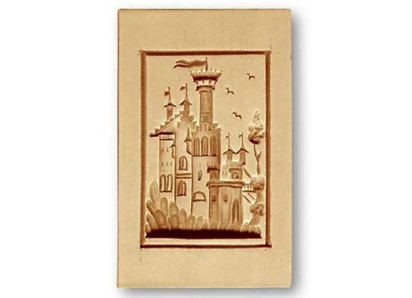 Fairytale Castle springerle cookie mold by Anise Paradise 4620