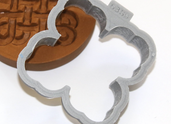 C-6380 Celtic Knots cookie cutter by Gingerhaus