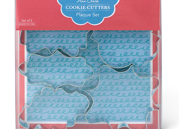 Plaque Cookie Cutter Boxed Set by Ann Clark