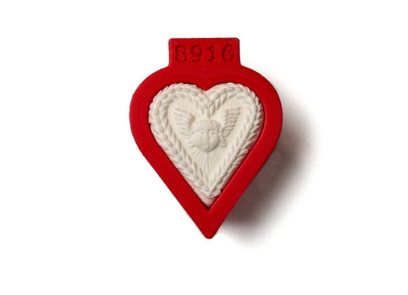 AP C - 8916 Small Heart cookie cutter by Gingerhaus 17264