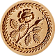 rose wreath border springerle cookie mold anise paradise.png