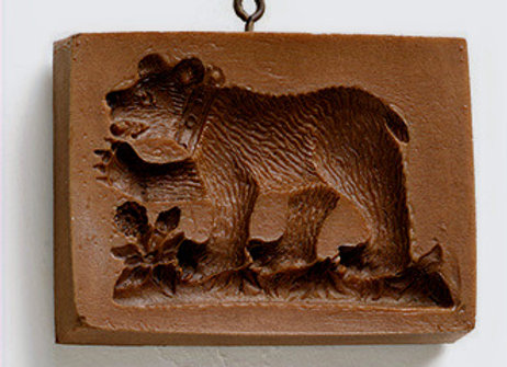 Bern Bear Springerle Cookie Mold  by House on the Hill M2009