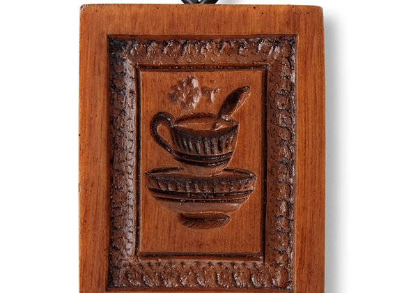 Steaming Cup Springerle Cookie Mold by House on the Hill M5788