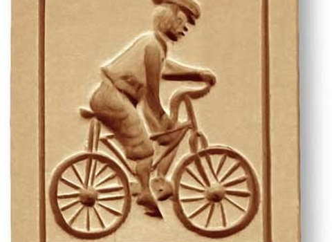 Bicycle springerle cookie mold by Anis-Paradise 04096