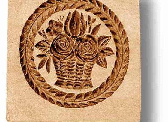 AP 2202 Flower Basket springerle cookie mold by Anis-Paradies
