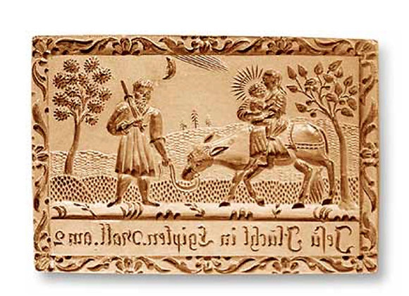Flight into Egypt springerle cookie mold - Anis-Paradies 1149