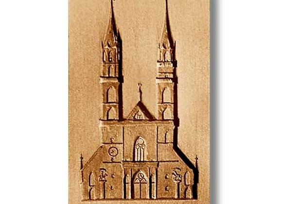 Basel Cathedral Church springerle cookie mold by Anis Paradies 4604