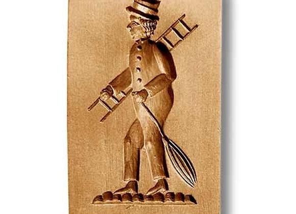 AP - 6607 Chimney Sweep Man springerle cookie mold by Anis-Paradies 6607