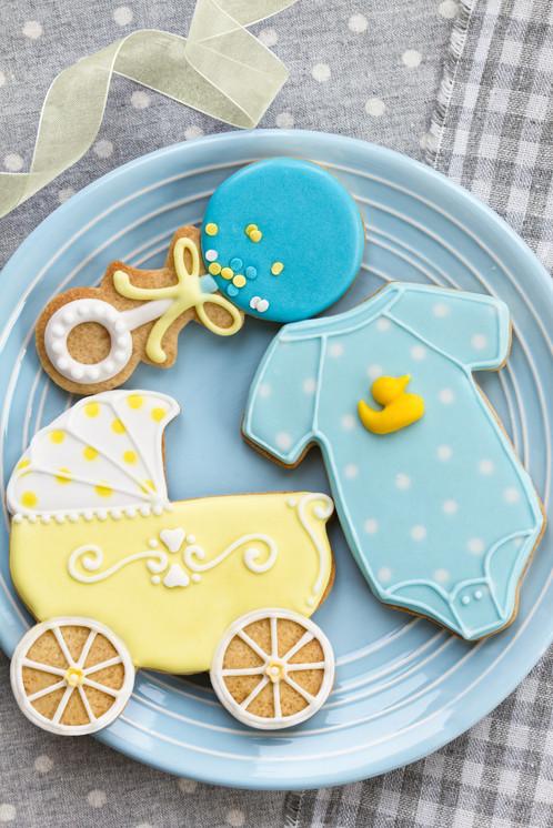 Gingerhaus® Baby Shower Cookie Cutters Set