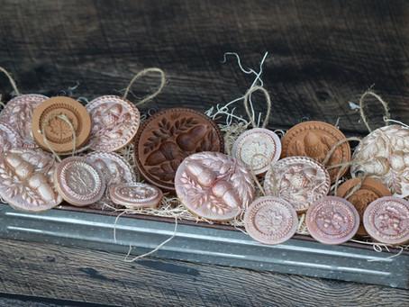 Fall Wax Ornaments
