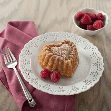 Nordic Ware Heart Cakelet Cake Gingerhau