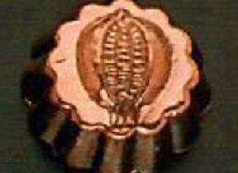 Swiss Pomegranate Copper Choclolate Baking Mold Birth-Gramm BG105-4