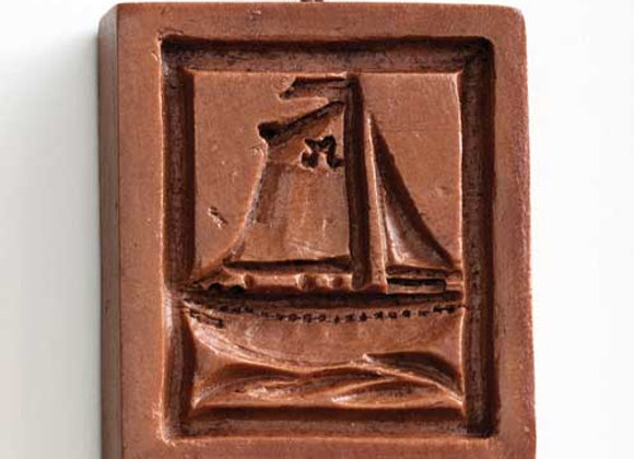 Sloop Sailboat Springerle Cookie Mold  by House on the Hill M1549