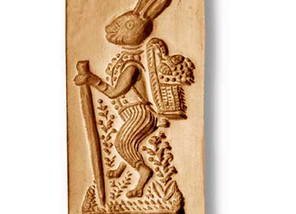 AP 6128 Easter Rabbit springerle cookie mold by Anise Paradise 6128