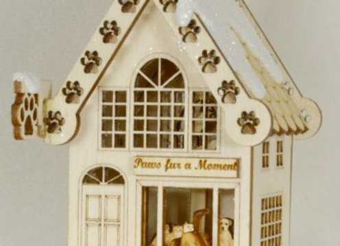 Bake Your Dog a Bone - Pet Store - Wooden Ornament by Gingerhaus-T